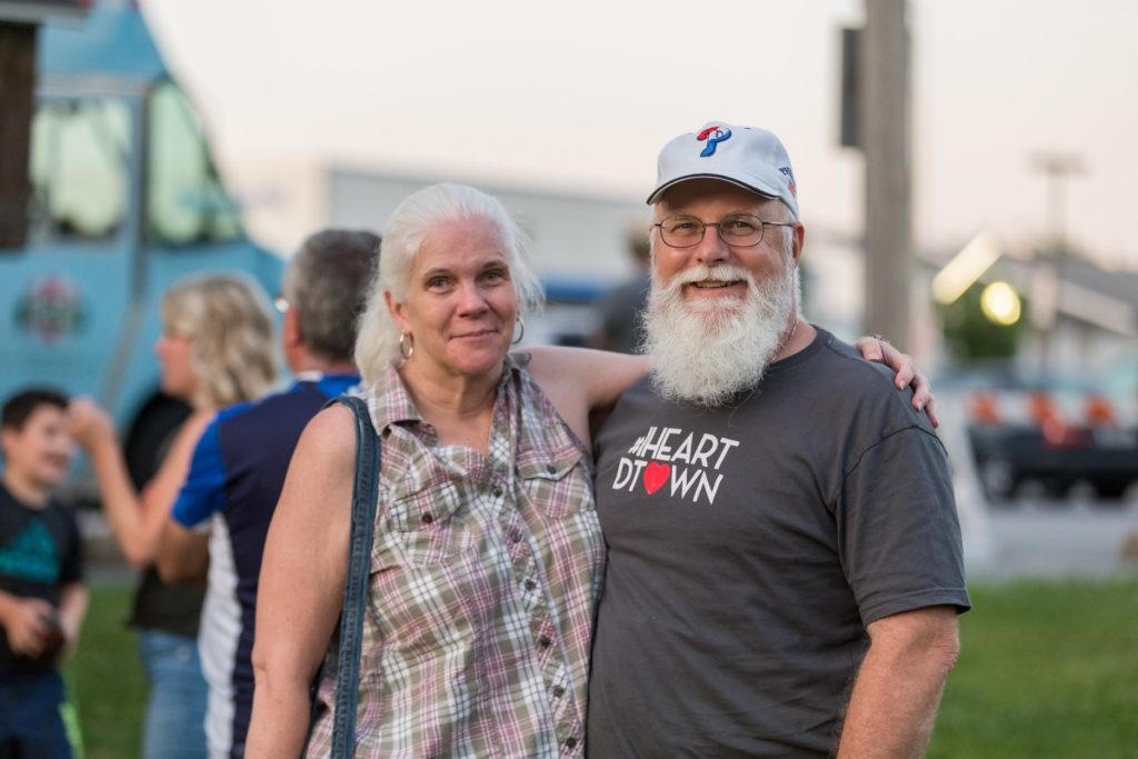 carol & matt at the downingtown summer jam 2018